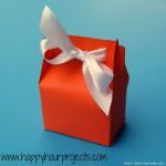 Бумажная упаковка для подарка