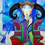 Монгольский художник Zayasaikhan Sambuu
